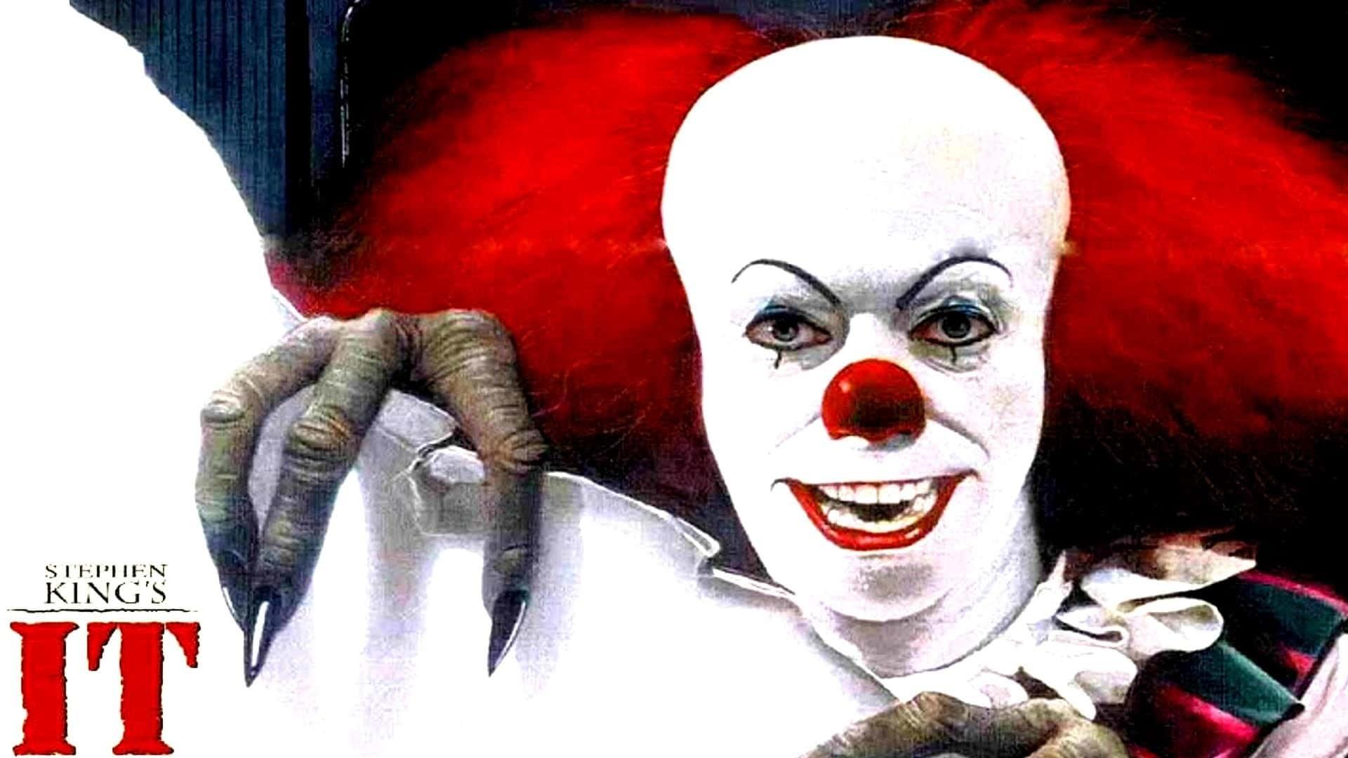 """Bild på clownen från filmen """"Det""""."""