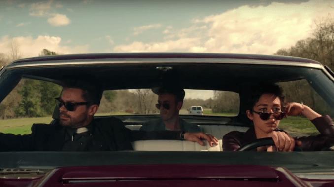 Jesse Custer, Cassidy och Tulip i Preacher
