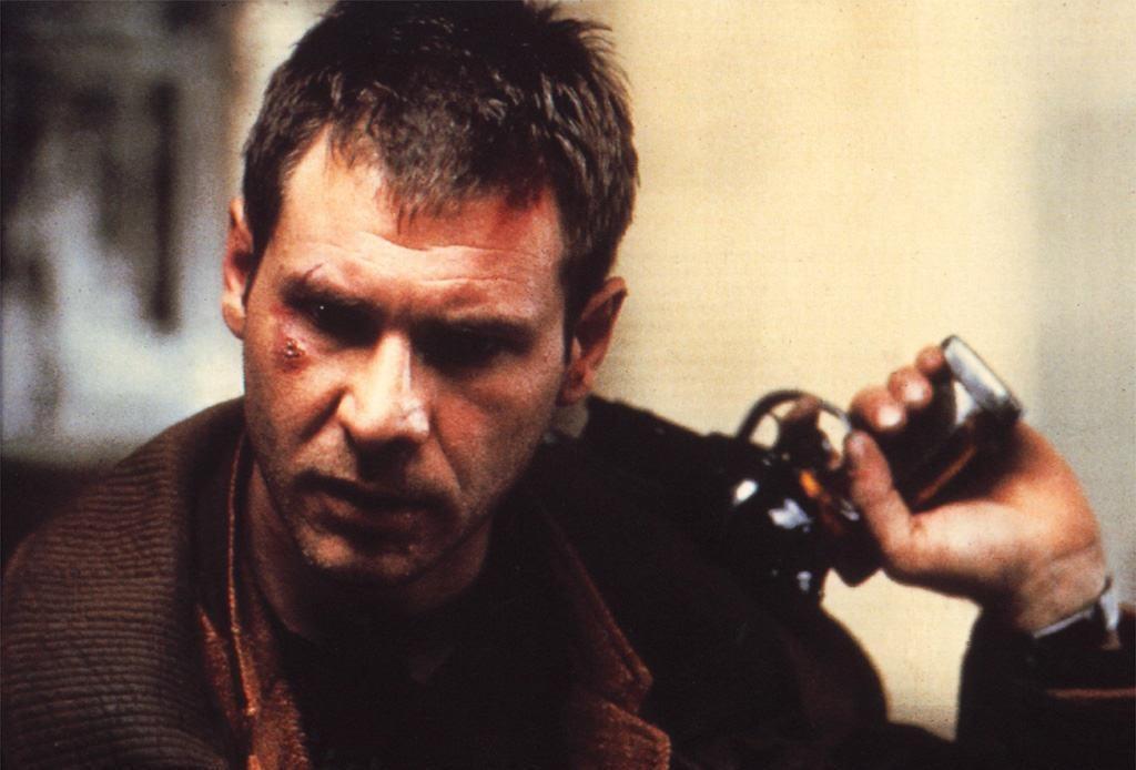 """Rick Deckard från filmen """"Blade Runner""""."""