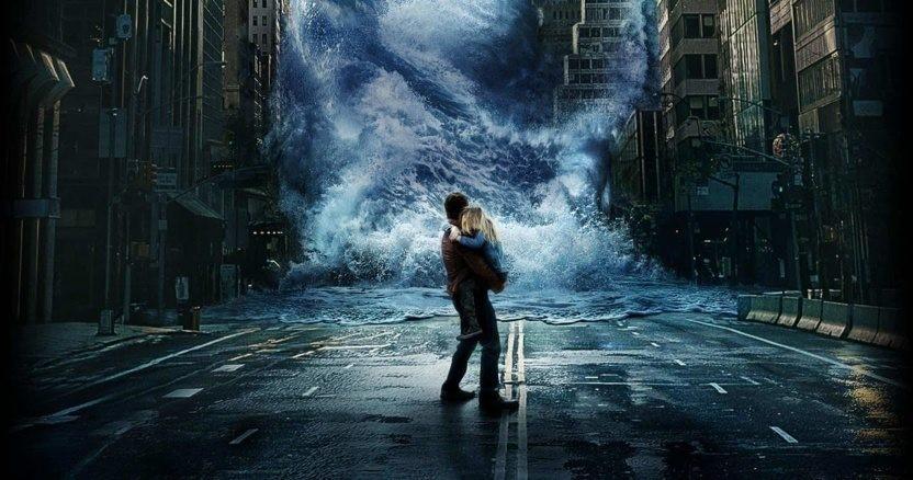 """Bild från filmen """"Geostorm""""."""