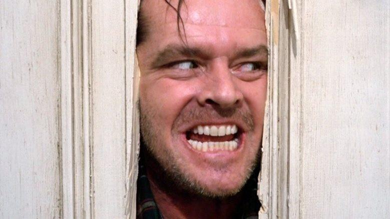 """Jack Nicholson ur en scen i """"The Shining"""""""