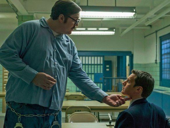 Cameron Britton som Ed Kemper i Mindhunter