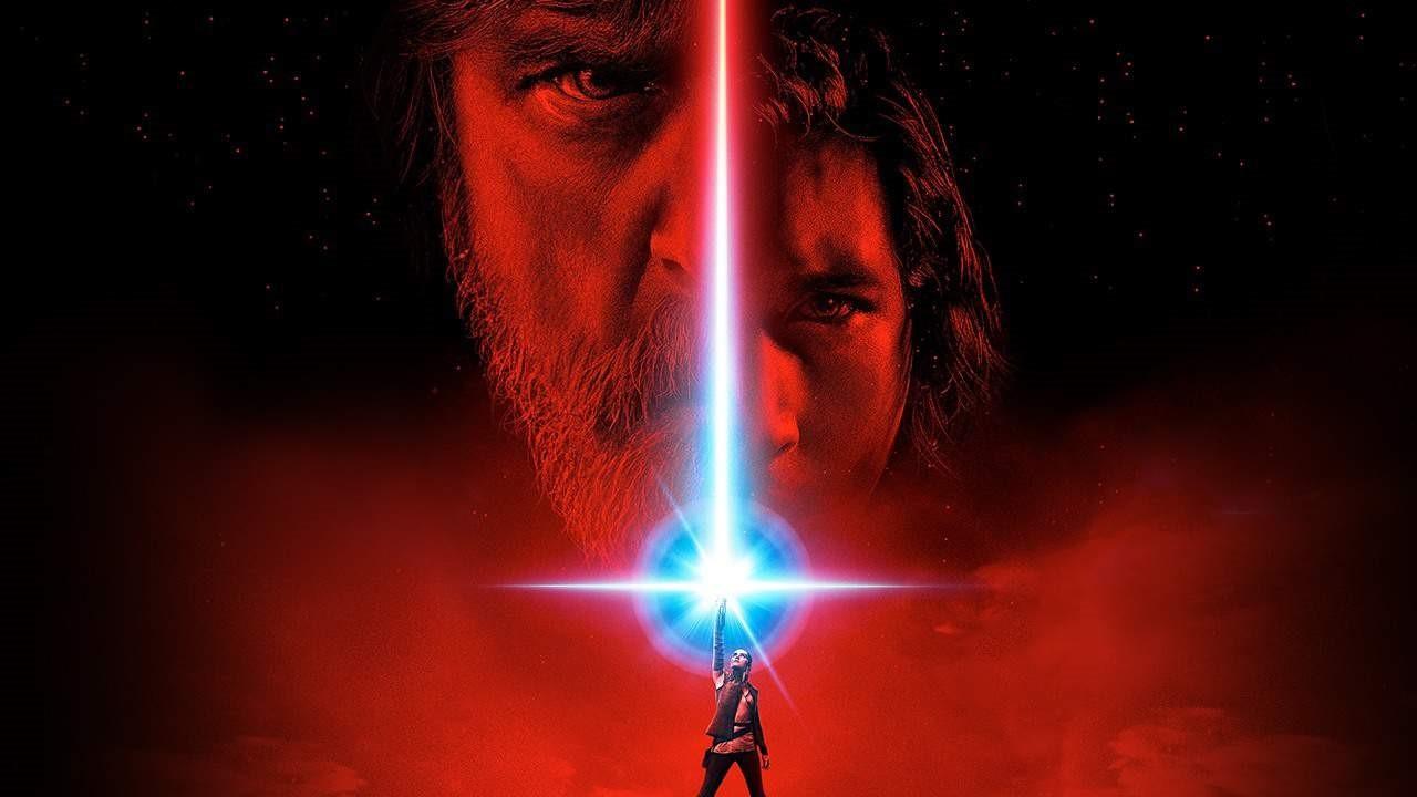 En poster av The Last Jedi. Nu kommer det nya Star Wars filmer.