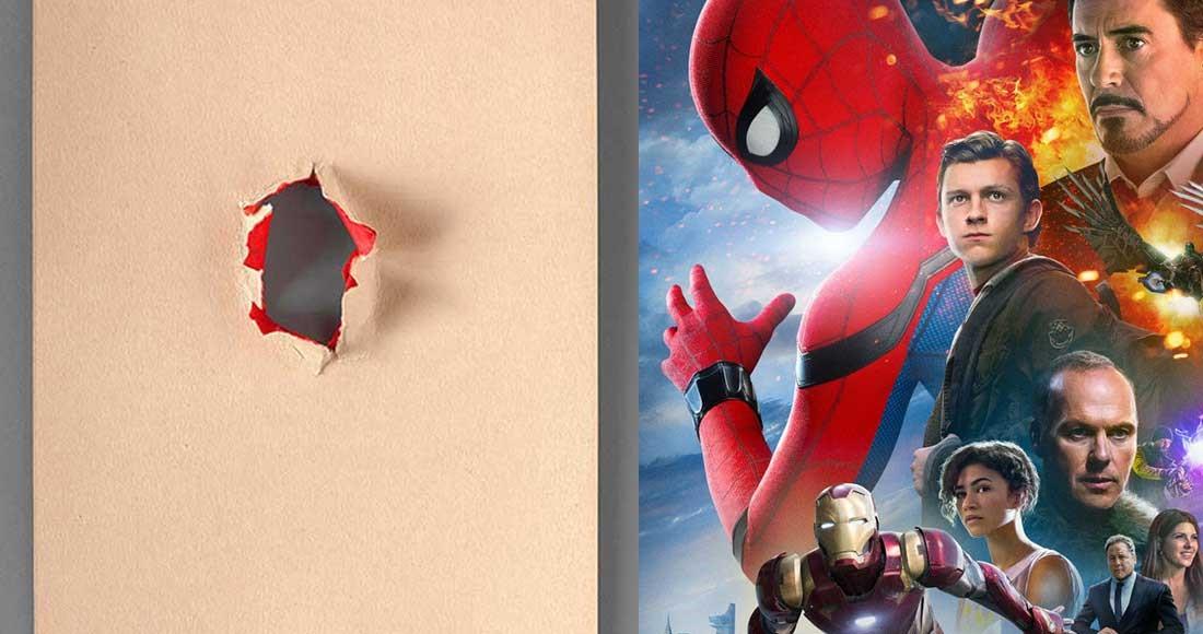 En minimalistisk filmposters vs Spider-Man Homecoming