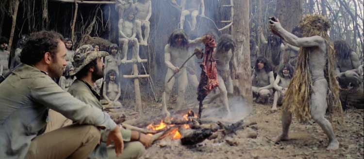 En ritual i Cannibal Holocaust
