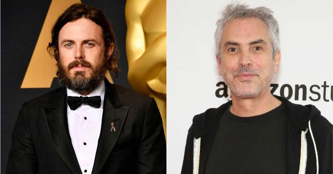 Casey Affleck och Alfonso Cuarón