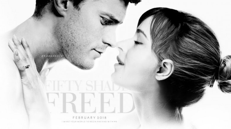 Poster till Fifty Shades Freed