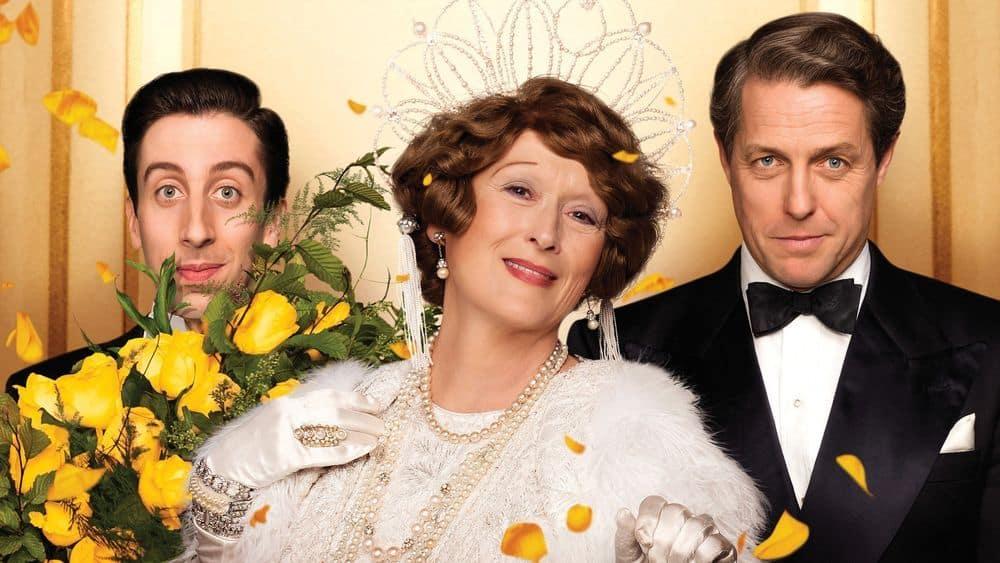 Poster till biografin Florence Foster Jenkins med Meryl Streep och Hugh Grant