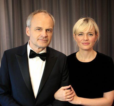 Johan Rheborg och Josephine Bornebusch