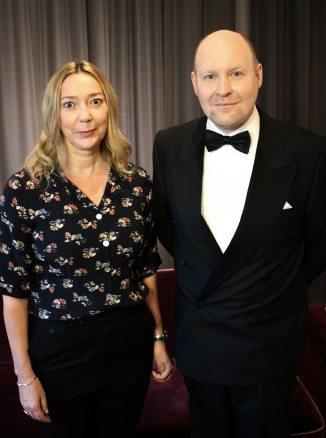 Henrik Dorsin och Malin Cederbladh