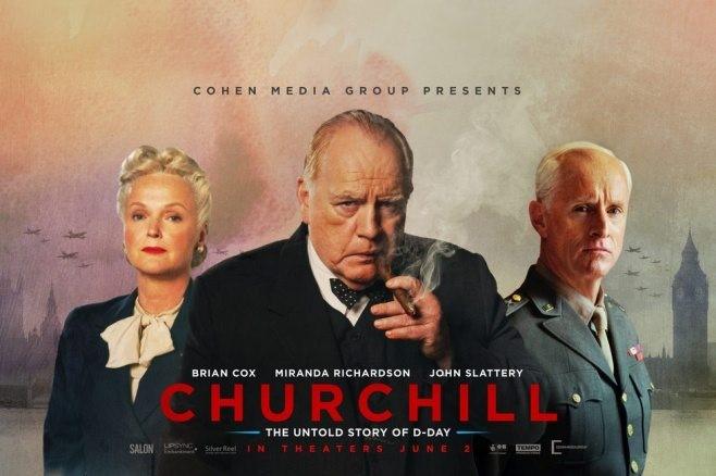 Churchill med Brian Cox