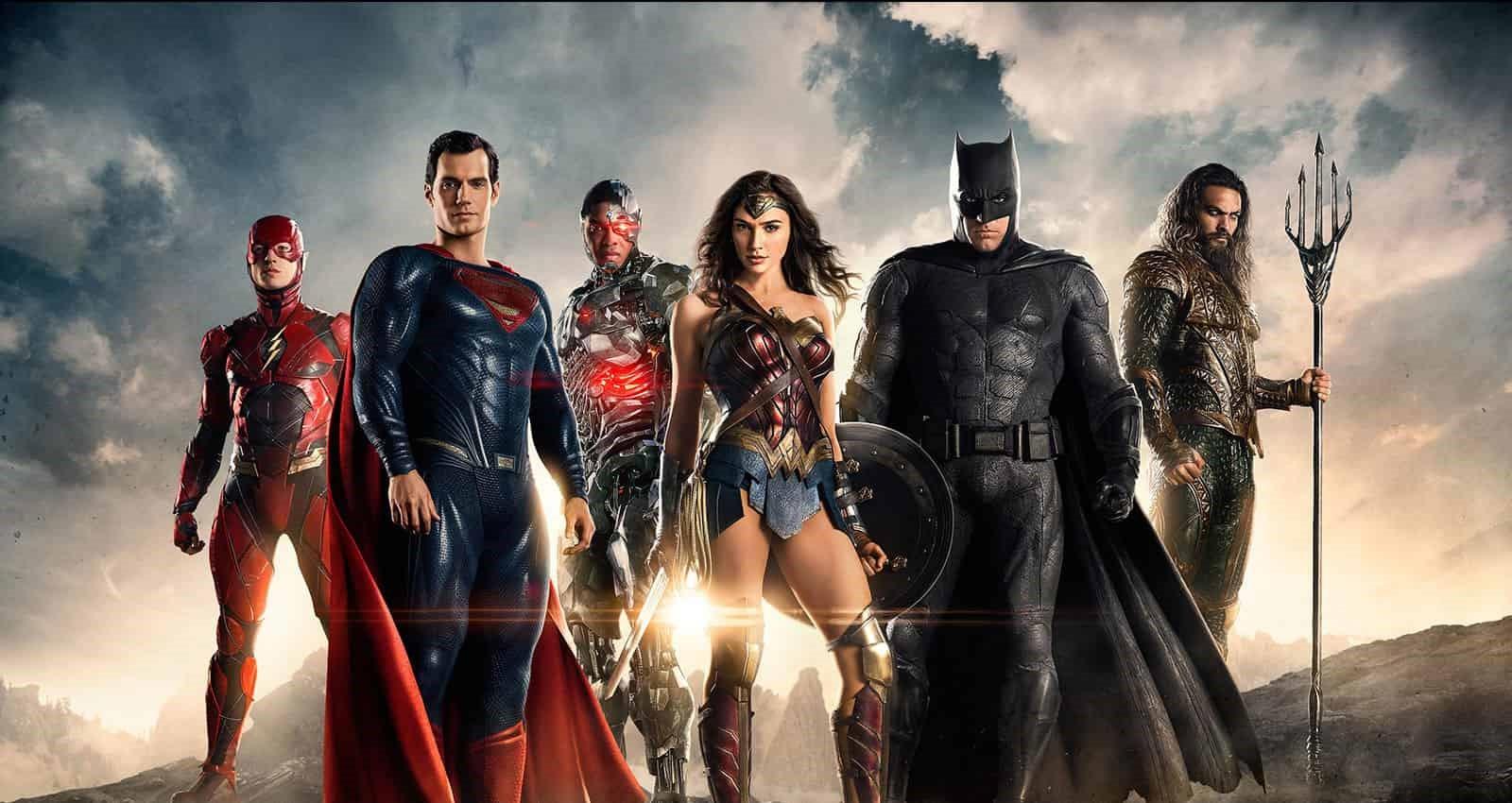Bild från filmen Justice League.