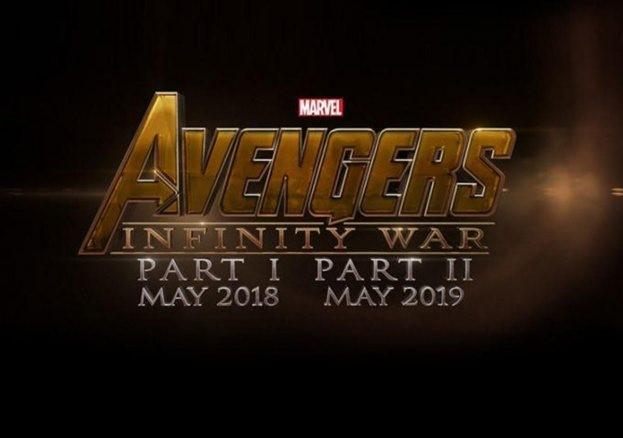 ny poster till Avengers: Infinity War