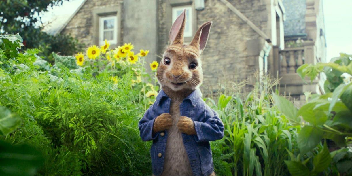 Pelle Kanin är ute på gräset - bästa filmtipsen 2018
