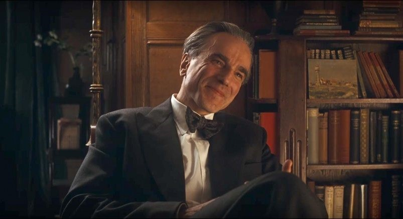 En bild på Daniel Day Lewis i Phantom Thread.