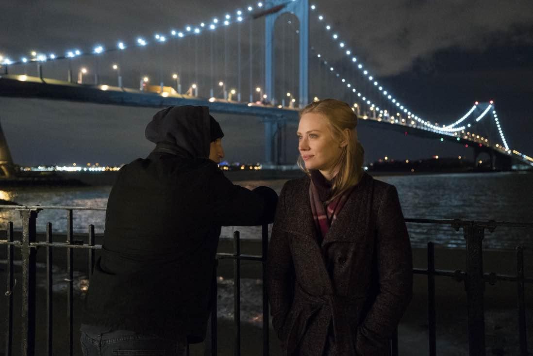 Jon Bernthal och Deborah Ann Woll i The Punisher