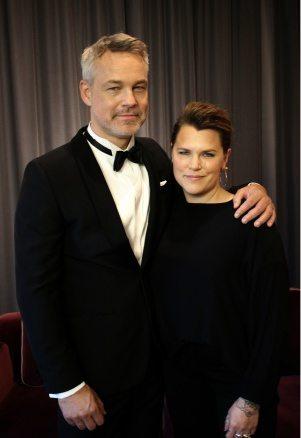 Henrik Schyffert och Mia Skäringer