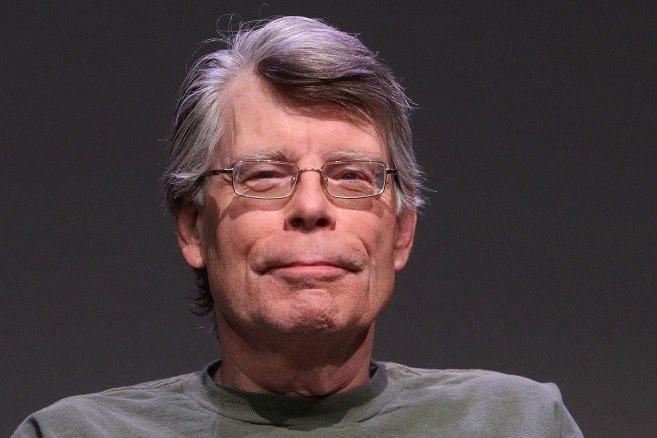 Här ser vi en bild på Stephen King!