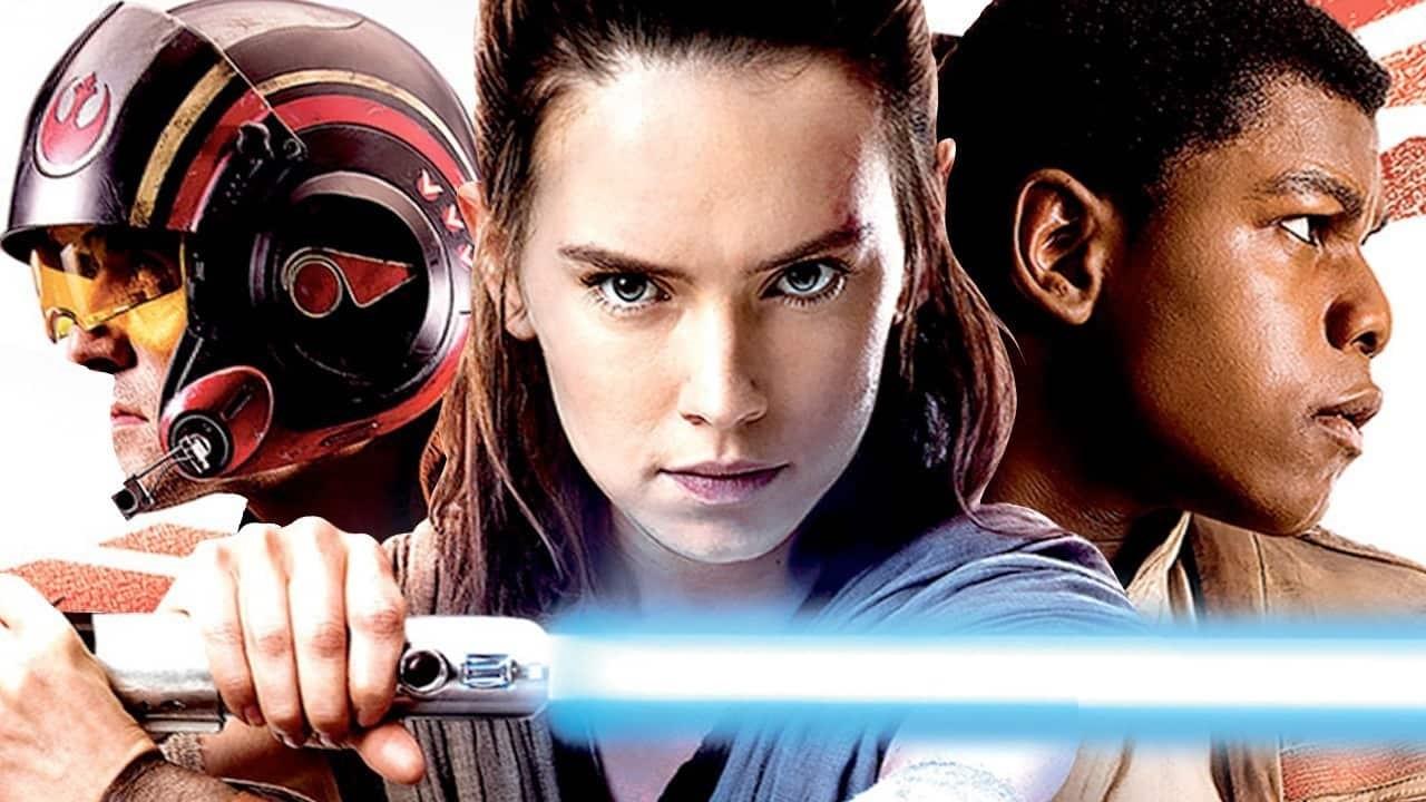 Daisy Ridley och John Boyega från The Last Jedi