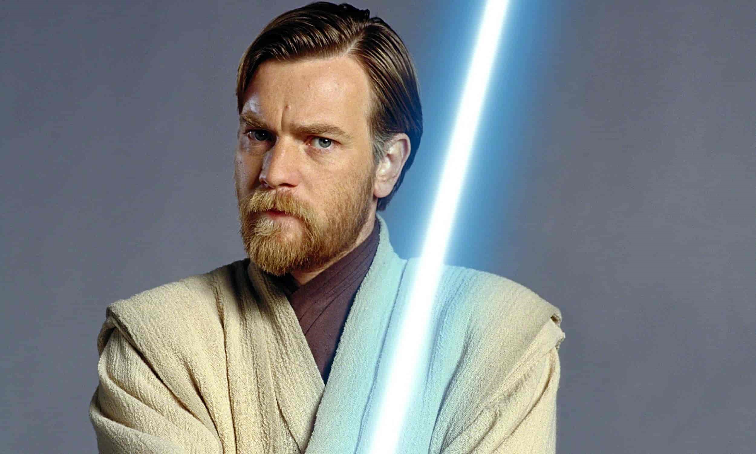 Här kan du se Ewan McGregor som Obi-Wan Kenobi
