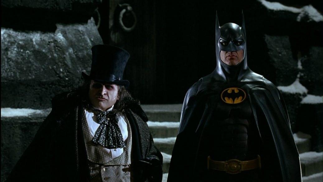 Batman och Pingvinen.
