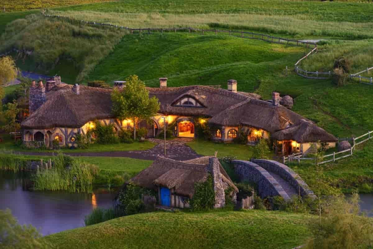 Hobbiton är ett hett restips för filmälskaren.