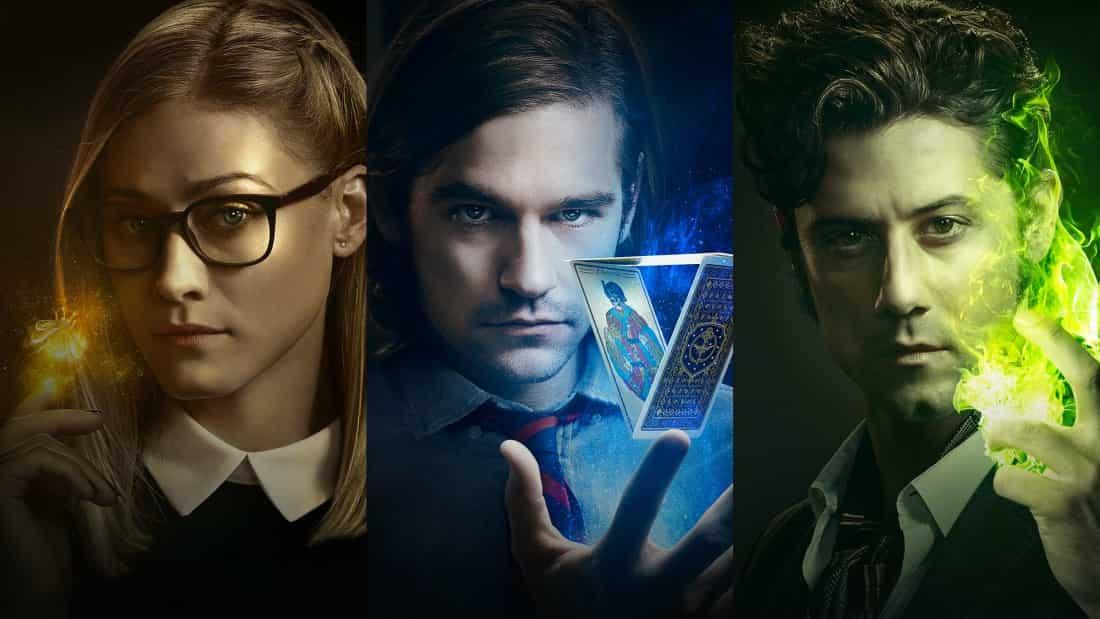 Poster till fantasy serien The Magicians.
