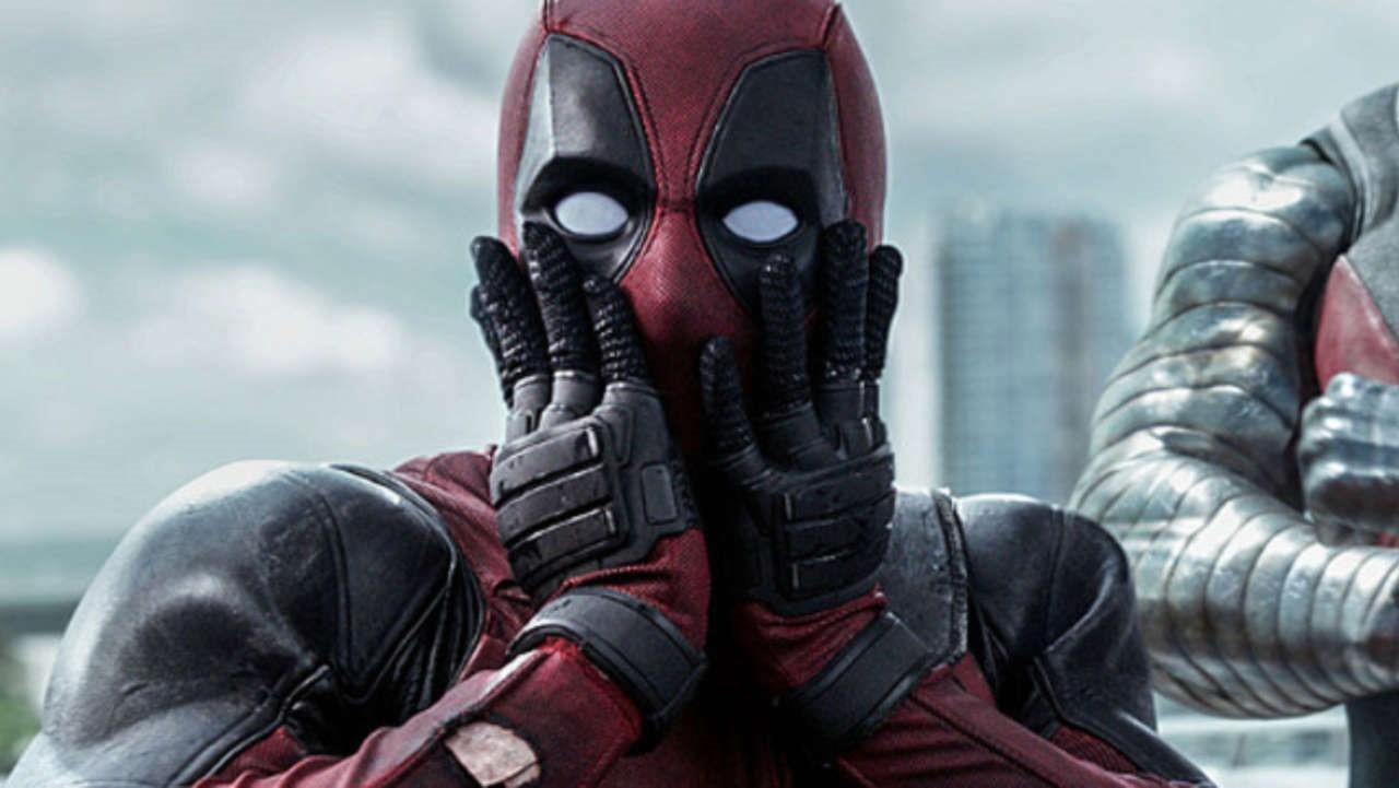 Här ser du en förbryllad Deadpool