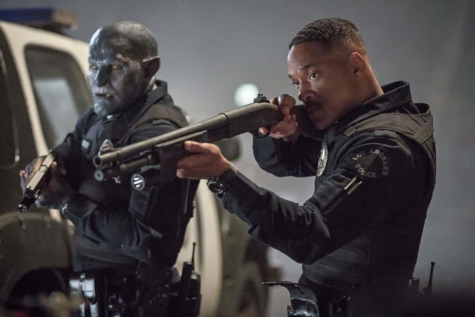 Will Smith som polis i Bright.