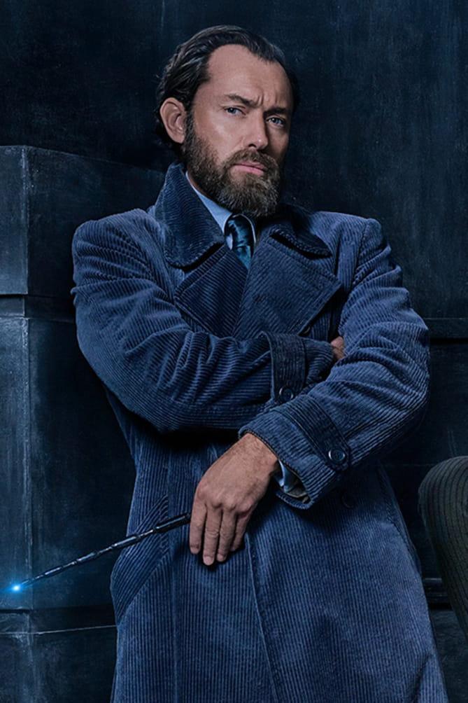 Albus Dumbledore spelad av Jude Law
