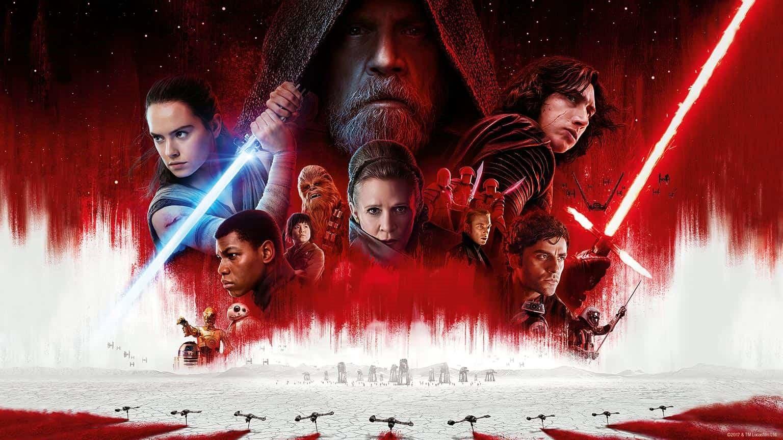 På bilden kan du se Star Wars gänget