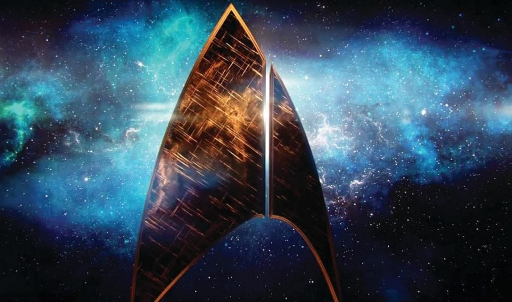 Star Trek loggan.