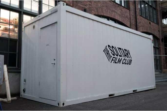 Experimentlokalen där Filmfabriken ska isoleras.
