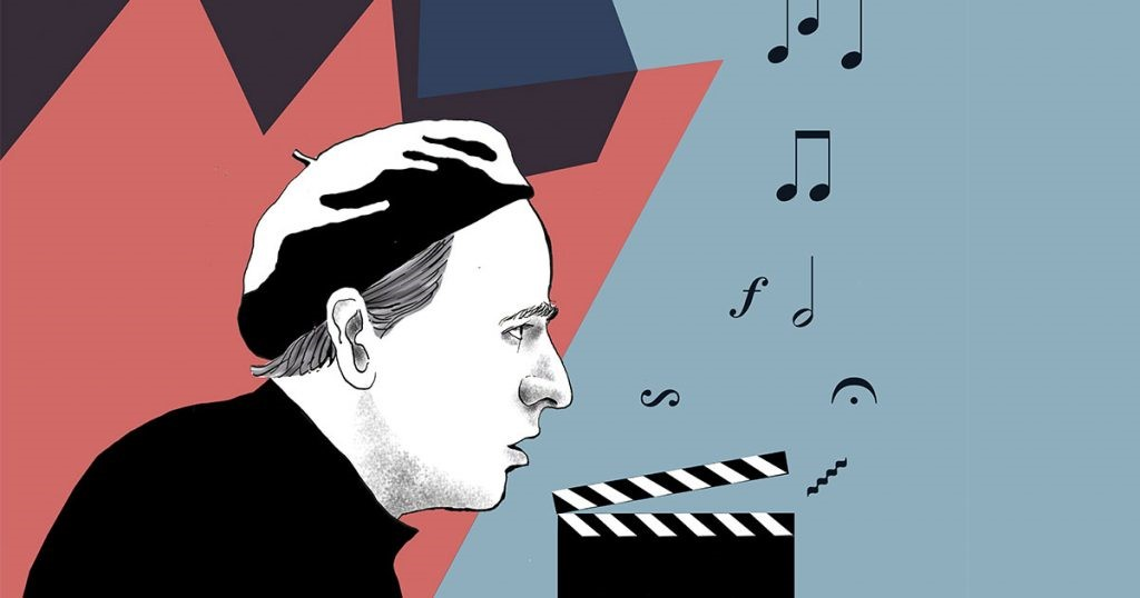 En tecknad Ingmar Bergman