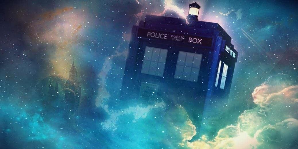 Tidsmaskinen TARDIS i Doctor Who.