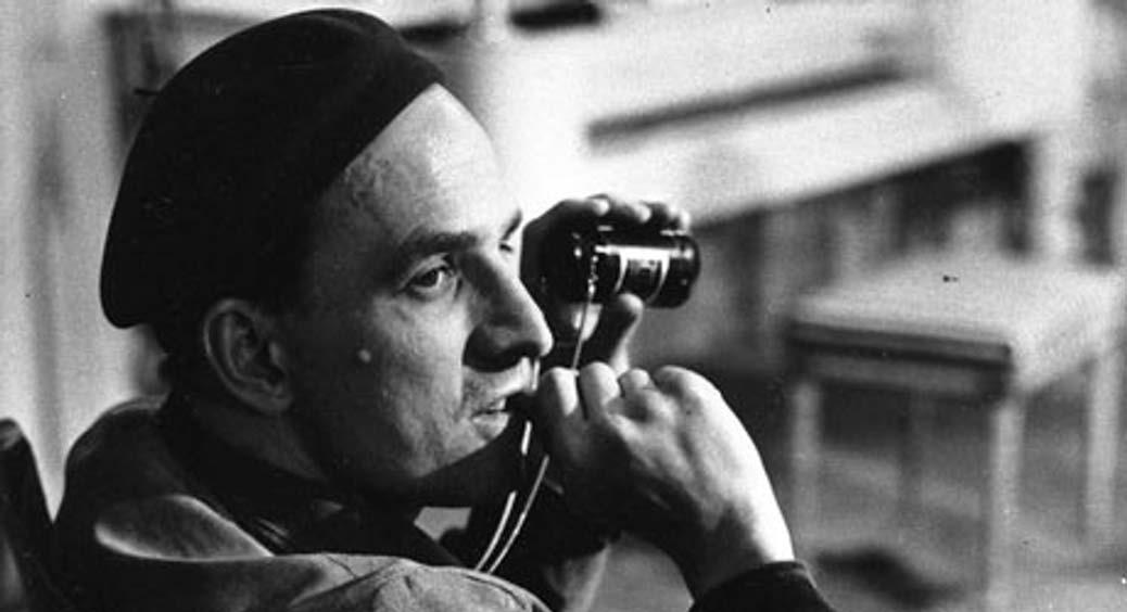 Regissören Ingmar Bergman.
