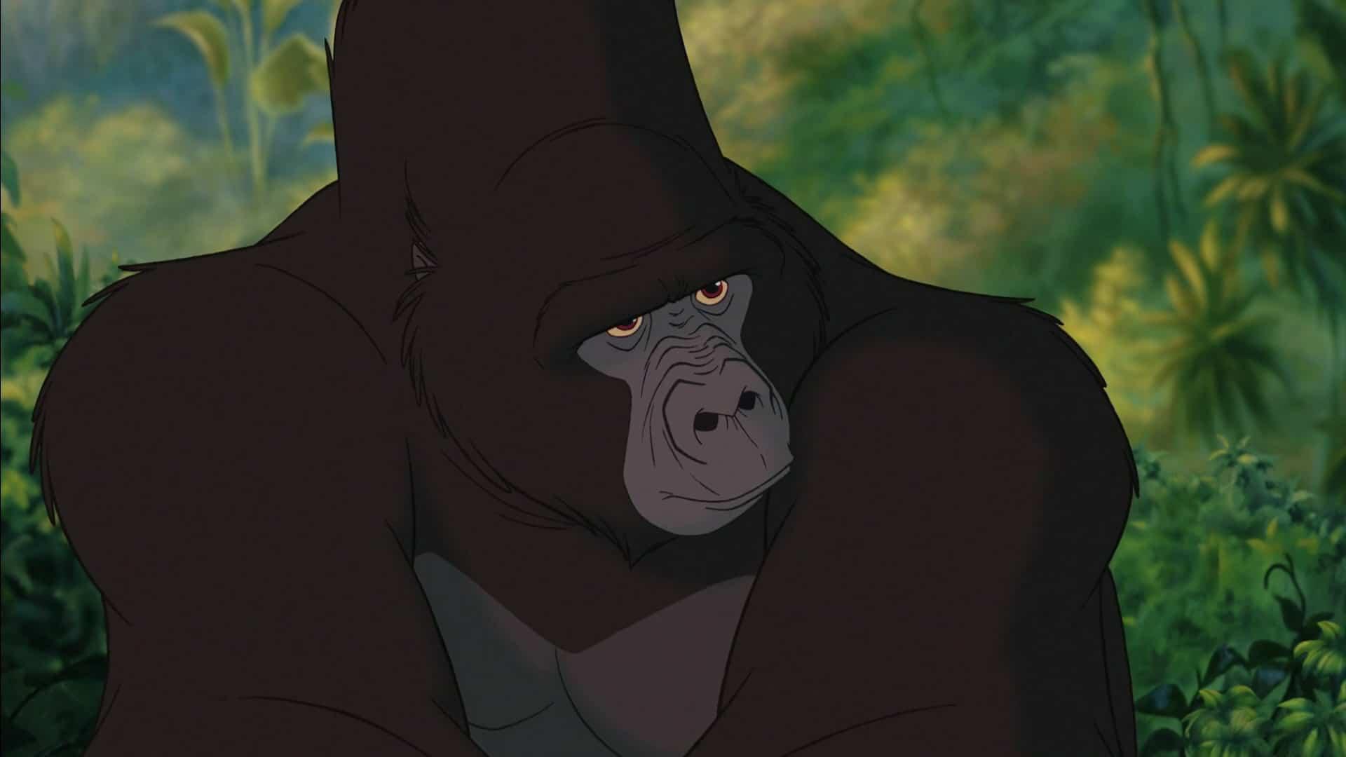 Kerchak från Tarzan.