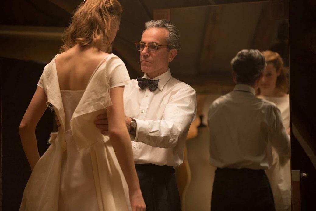 Daniel Day Lewis och Vicky Krieps i Phantom Thread.
