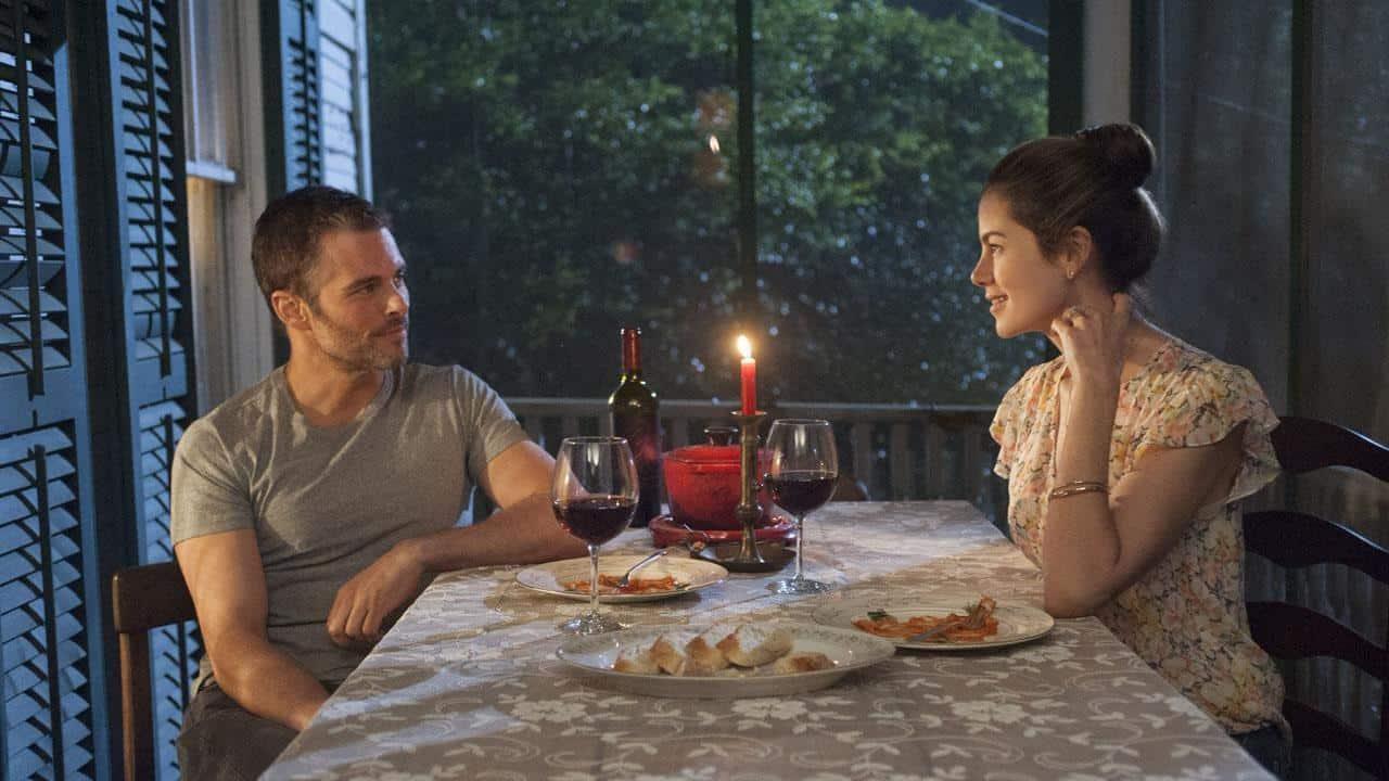 James Marsden och Michelle Monaghan i The Best of Me.
