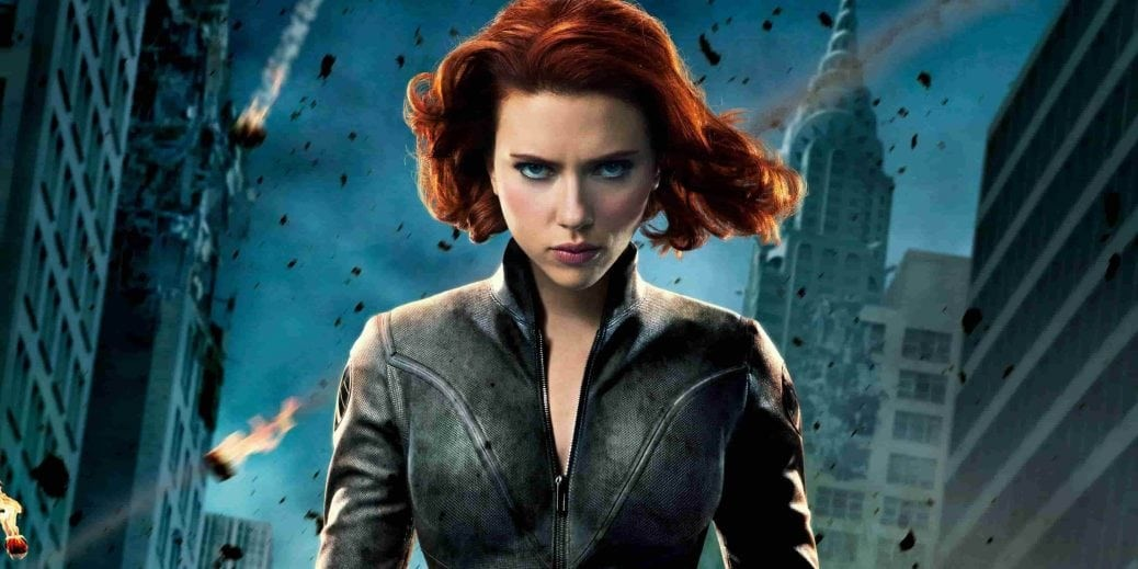 Scarlett Johansson i rollen som Black Widow