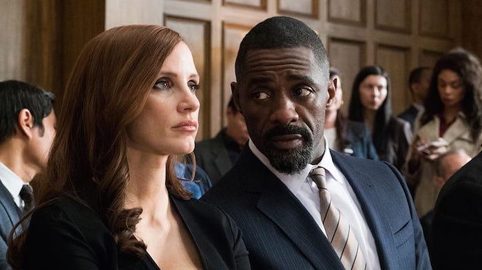 """Jessica Chastain och Idris Elba i """"Molly's Game"""""""