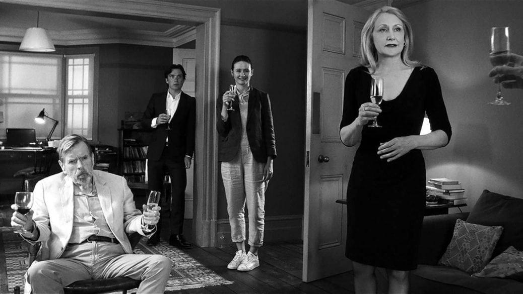 Timothy Spall och Cillian Murphy med flera i The Party, en av de bästa filmerna 2018.
