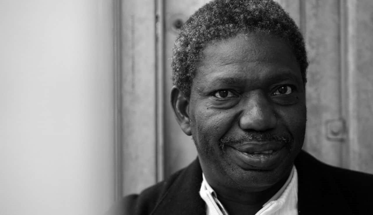 Bild på filmskaparen Idrissa Ouedraogo.