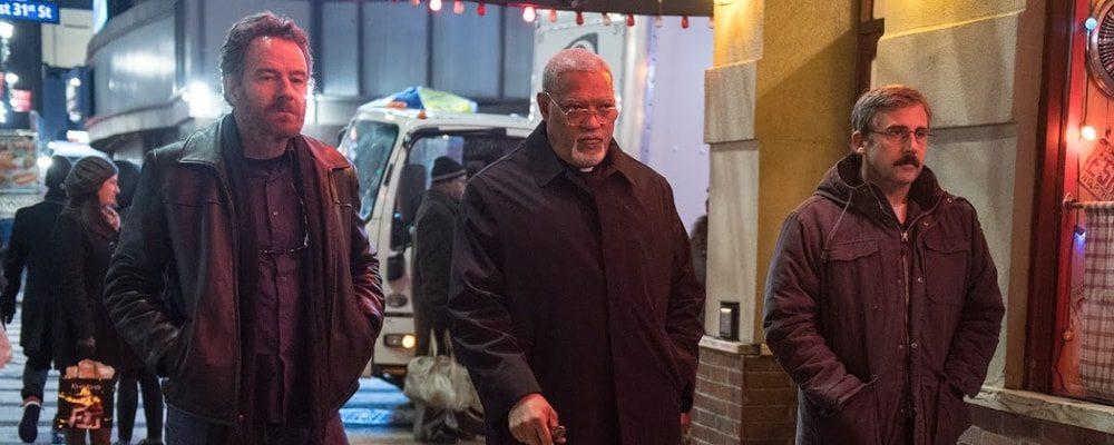 """Bryan Cranston, Laurence Fishburne och Steve Carell i Richard Linklaters """"Last Flag Flying"""""""