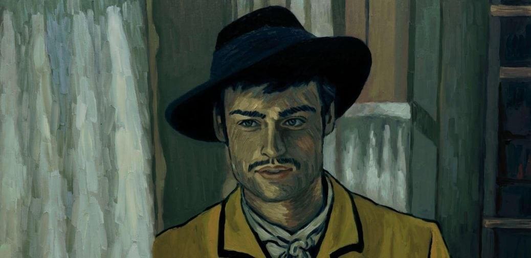 Douglas Booth som Armand Roulin i Loving Vincent.