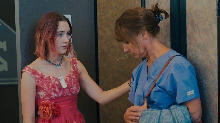 Saoirse Ronan, som är nominerad för en Oscar för Lady Bird
