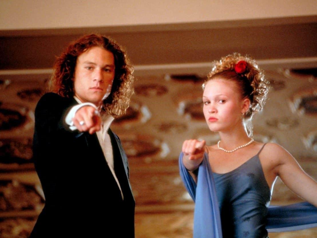Heath Ledger och Julia Stiles i 10 orsaker att hata dig.