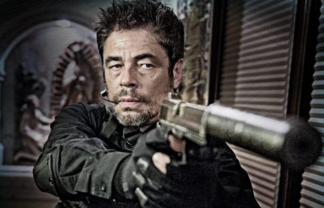 Benicio Del Toro i Sicario: Day of the Soldado.