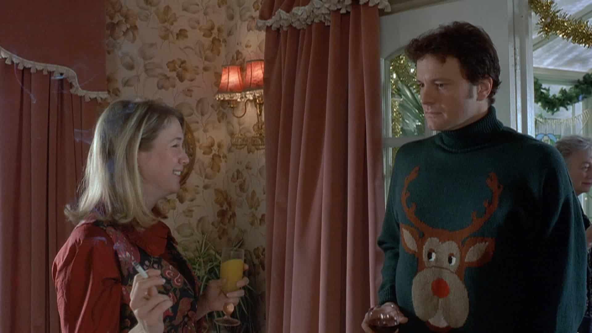 Renée Zellweger och Colin Firth i Bridget Jones dagbok.