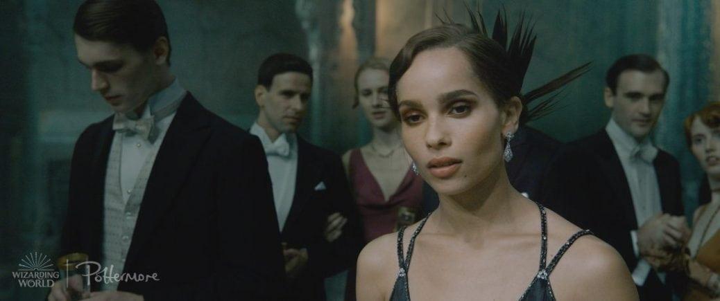 Leta Lestrange, spelad av Zoë Kravitz.